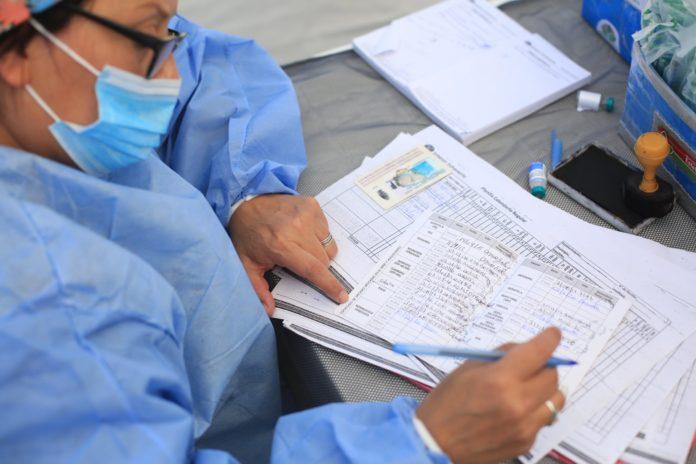 Las autoridades sanitarias confirmaron que existe una fuerte caída en los contagios