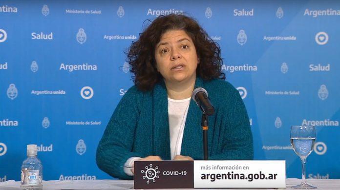 La Secretaria de Acceso a la Salud, Carla Vizzotti