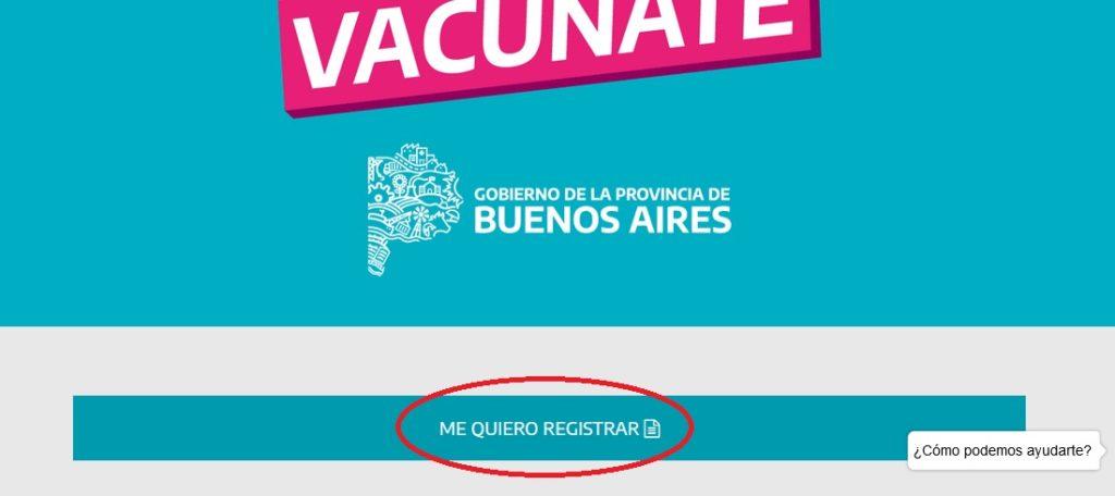 ¿Cómo inscribirse para vacunarse contra el coronavirus en la provincia?