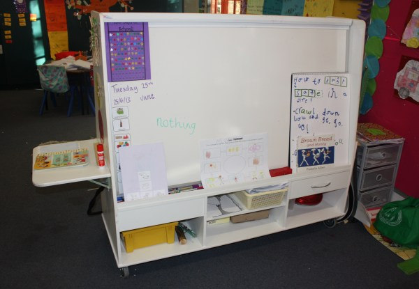 Welcome On Classroom Whiteboard
