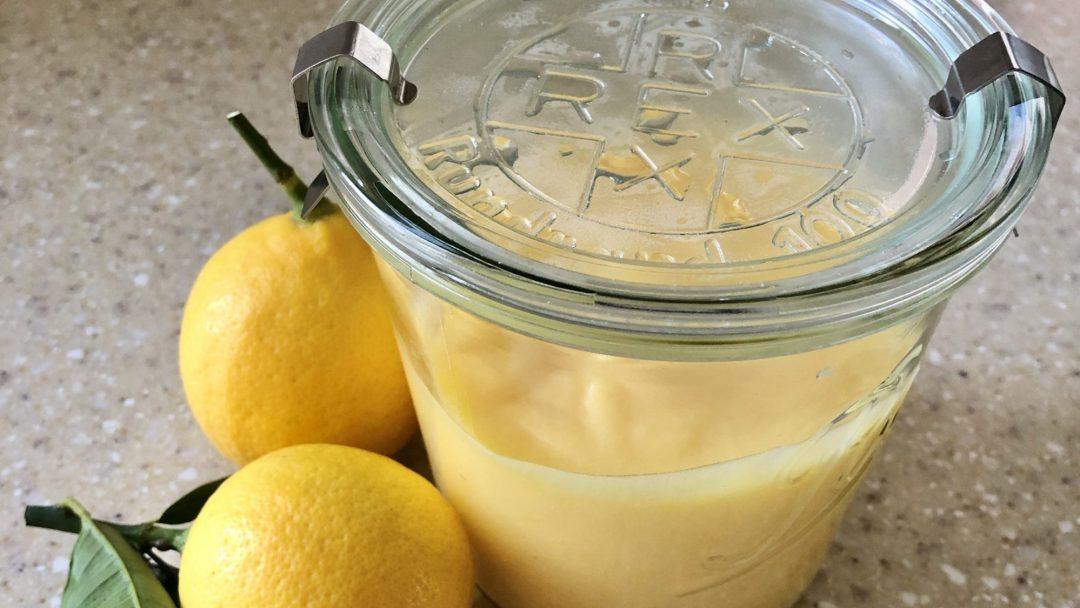 home made lemon butter