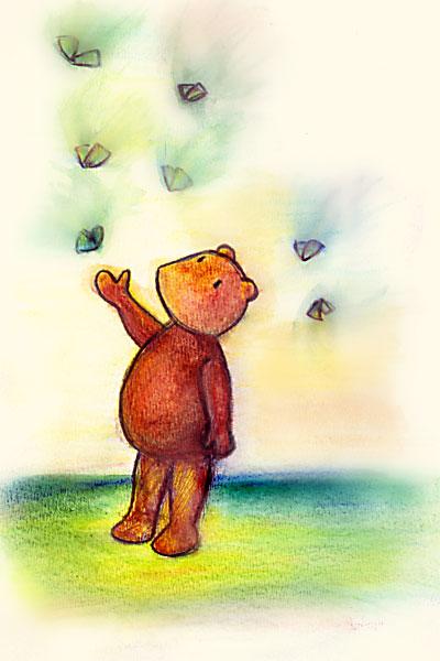 30---Pooh-Lapiz