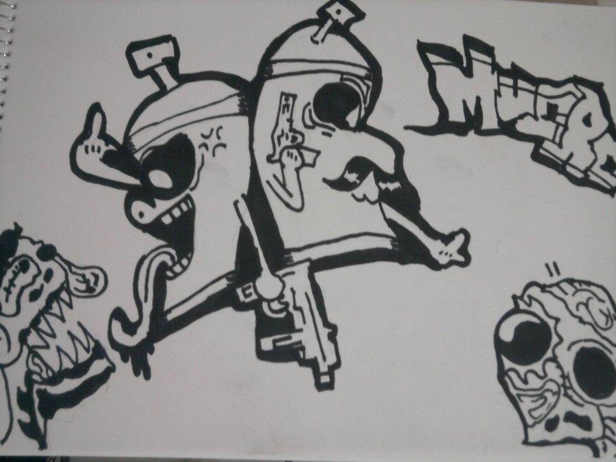 Malditos Zombies Por Siddhartaguerrero Dibujando