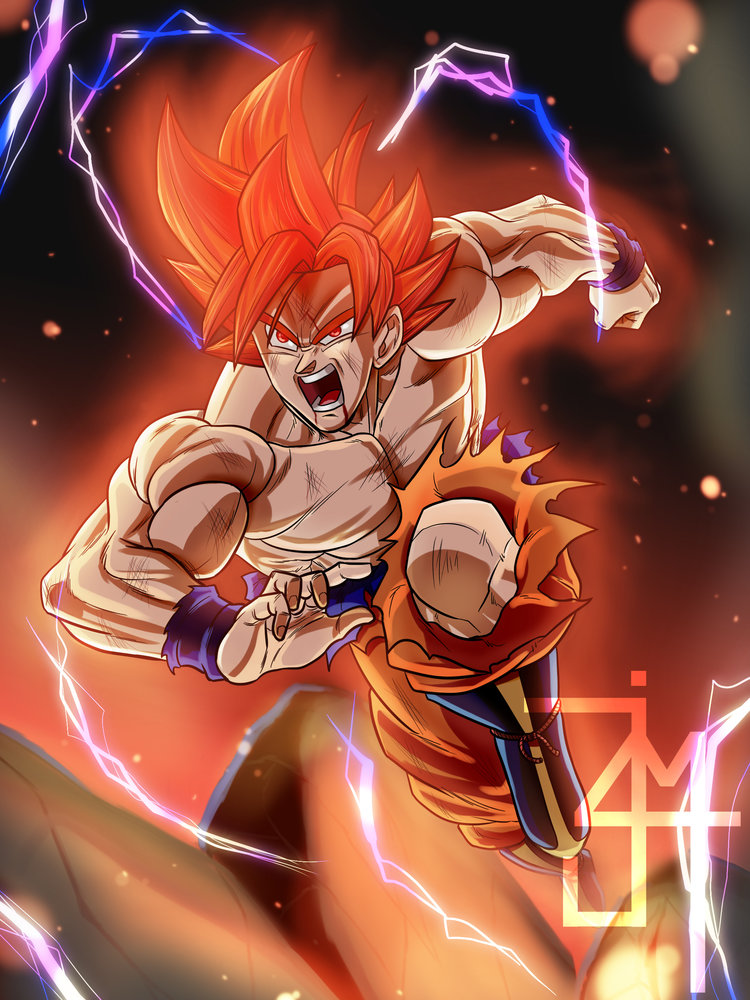 Blue Dragon Anime Wallpaper Goku Limit Breaker Por Ji4m Dibujando