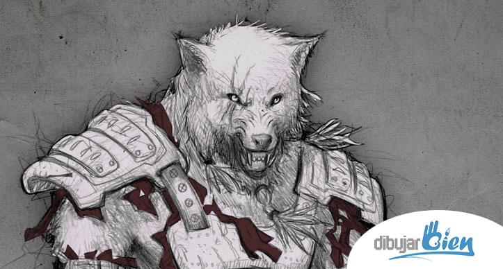 Fenris el Hombre Lobo licántropo.