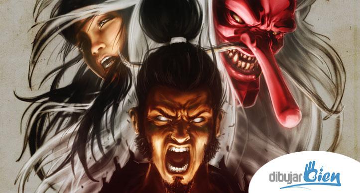 Fude samurai Video Game colaboración