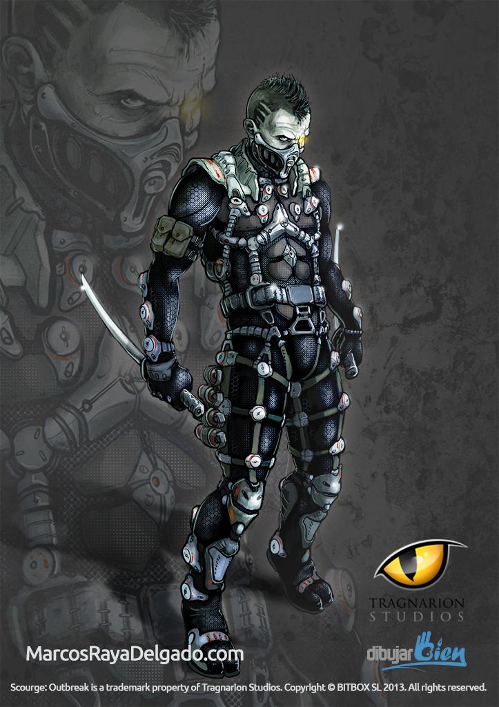 Shade, el ninja asesino, Scourge Outbreak