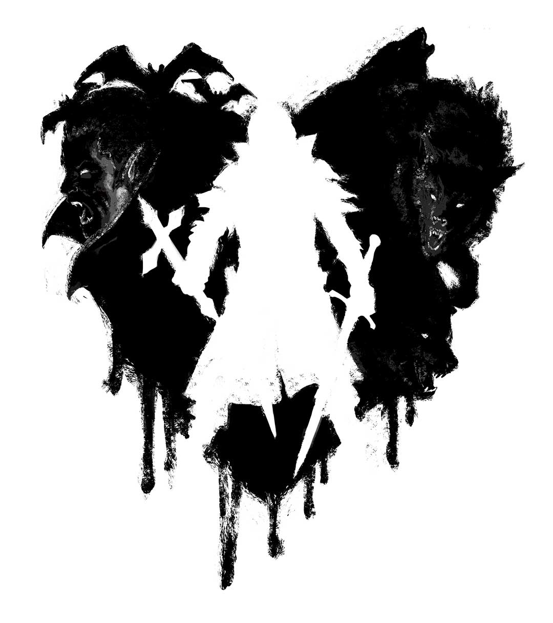 espacio en negativo: Logo de Castlevania