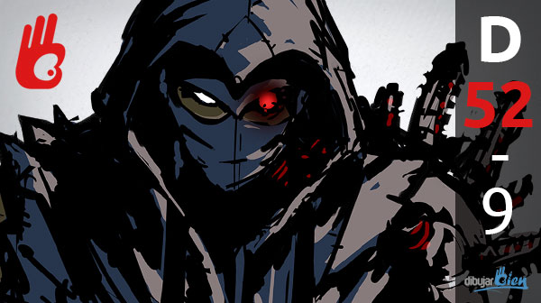 Cómo dibujar digitalmente: Ninja Gaiden. D-52 – Dibujar Bien.com