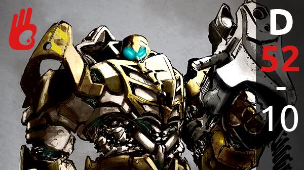 Dibujar con Photoshop un Robot. D-52 – Dibujar Bien.com