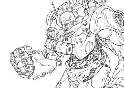 Diseño de personaje: IronSuit