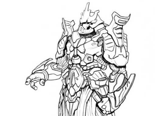 Diseño de personaje: Gran Maestre