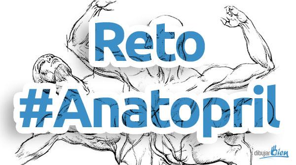 Anatopril, dibujo de anatomía en Abril