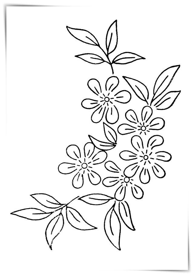 Dibujos flores faciles a4  Biblioteca de imgenes online