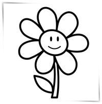 Famoso Flores Bonitas Para Colorear Ideas