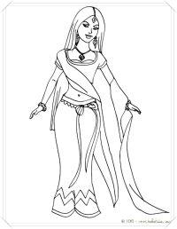 dibujos de princesa holly para colorear - Dibujo imagenes