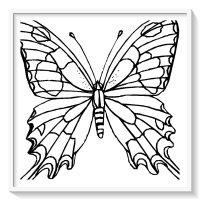 Mariposas Para Colorear Online Dibujos De Mariposas