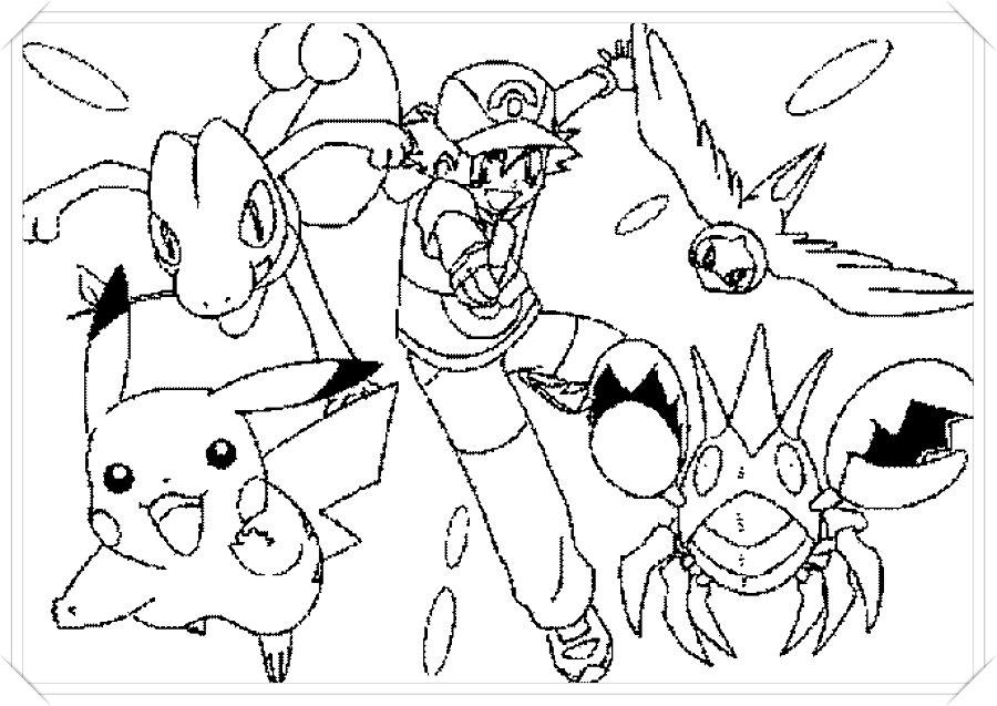 Dibujos De Pokemon Detective Pikachu Para Colorear
