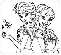 Dibujos Para Colorear Frozen Para Imprimir Frozen Para