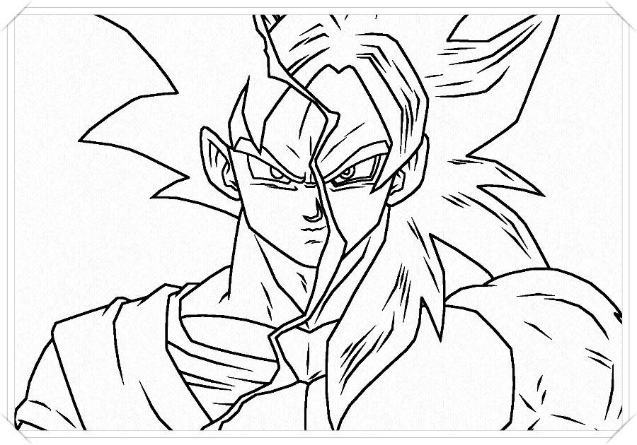 Como Dibujar A Goku Ssj Dios Azul
