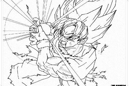 Goku Ssj Dios 1 Para Colorear 4 Imagenes De Goku Ssj Dios Para