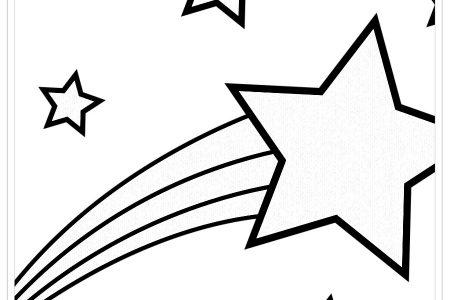 Dibujos De Estrellas Para Colorear Biblioteca De Dibujos