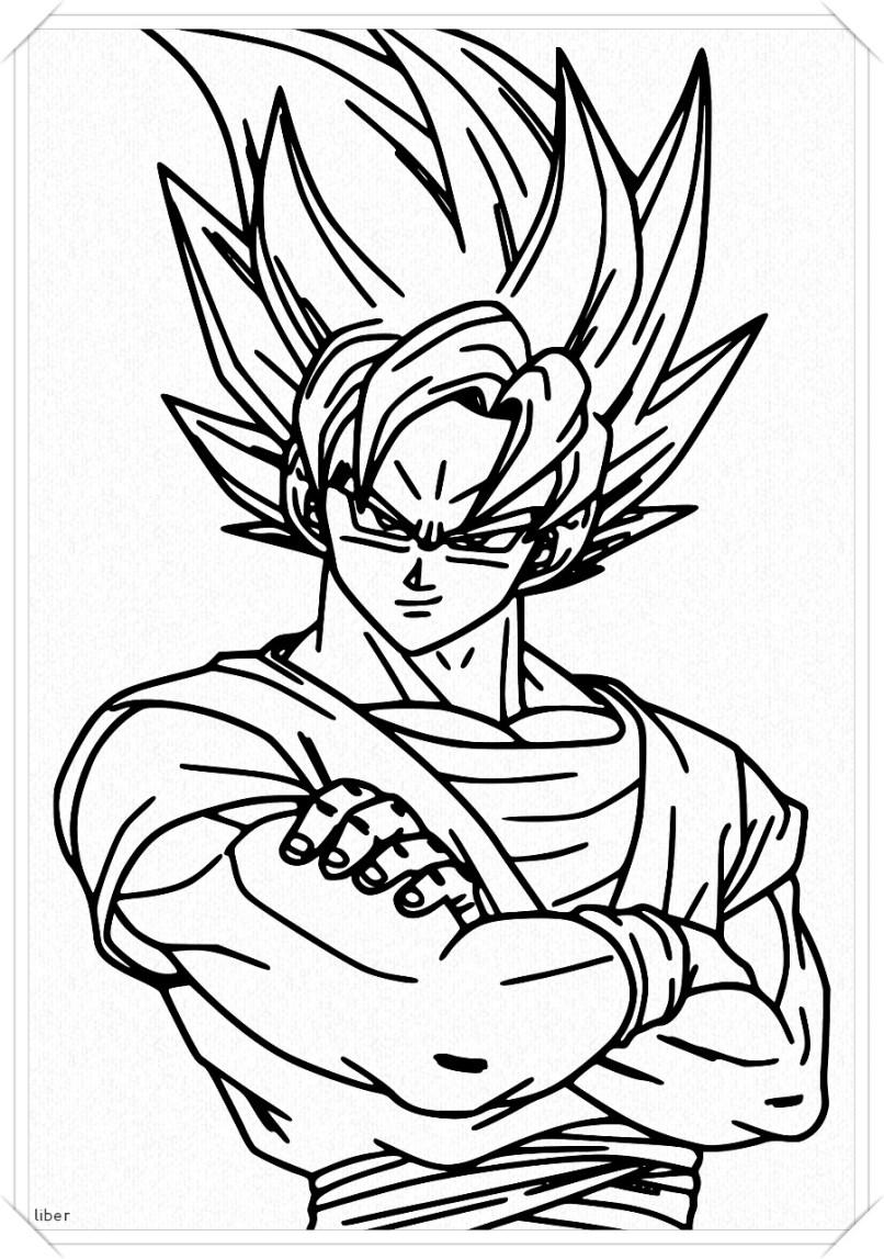 Imagenes De Dragon Ball Z Para Colorear Goku En Fase 4