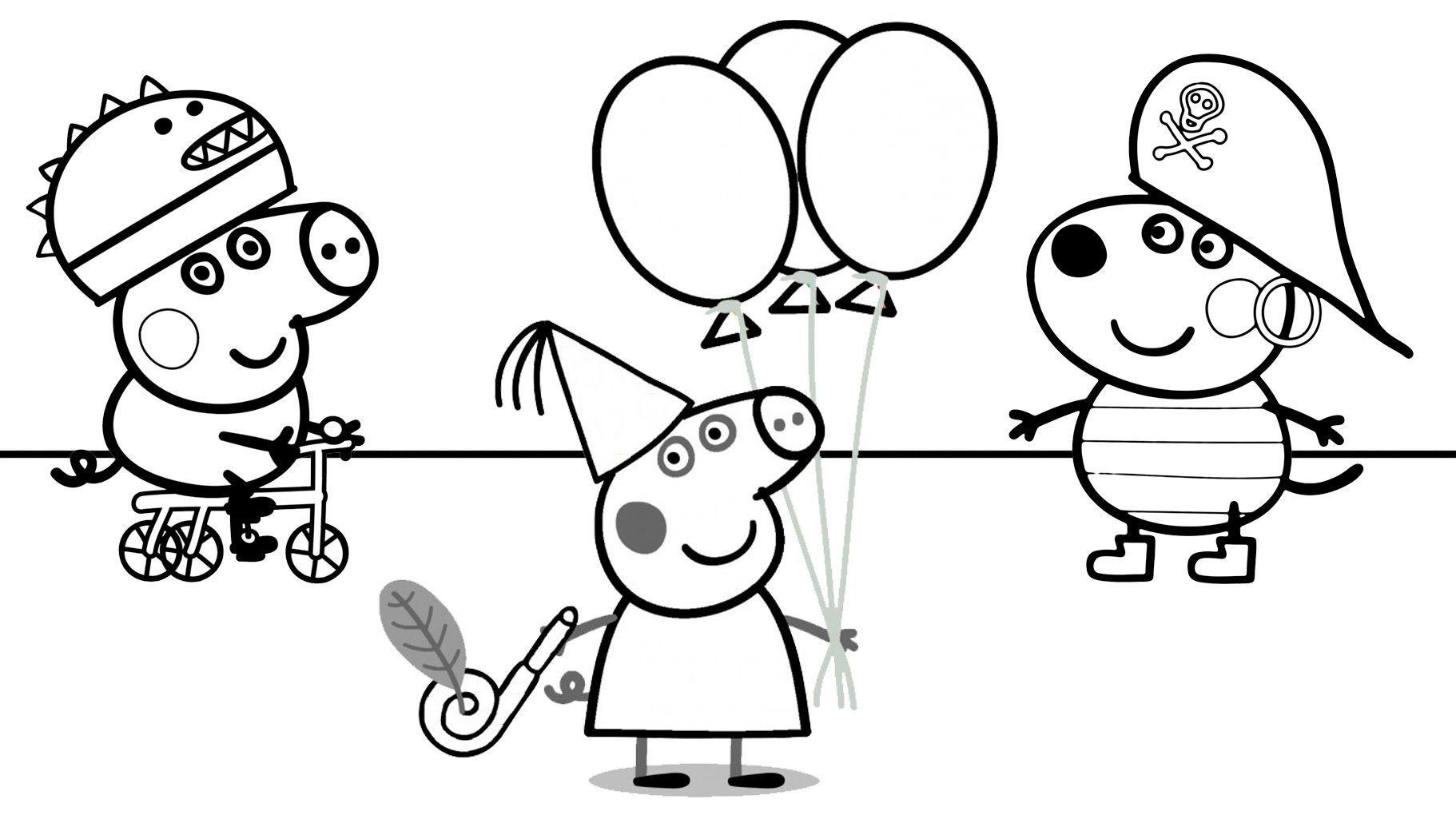 Dibujos Para Colorear Peppa Pig Halloween Imagesacolorierwebsite