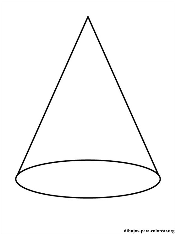 Free coloring pages of traffic cone