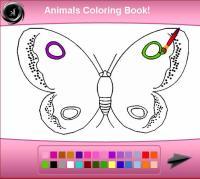 Dibujos para pintar en el ordenador animales | Mariposa ...