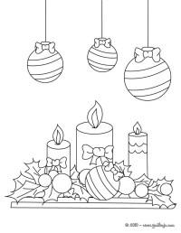Dibujos Velas De Navidad Para Colorear Dibujos Para
