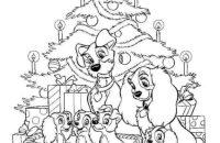 Dibujos para colorear Disney Navidad | Dibujos para cortar ...