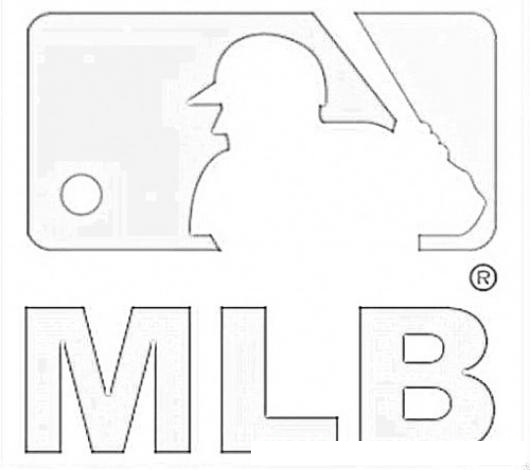 Dodgers Baseball Logo Coloring Page Coloring Pages