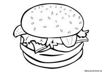 Hamburguesas para dibujar - Imagui