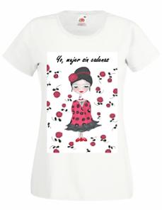 Camiseta mujer Yo mujer sin cadenas