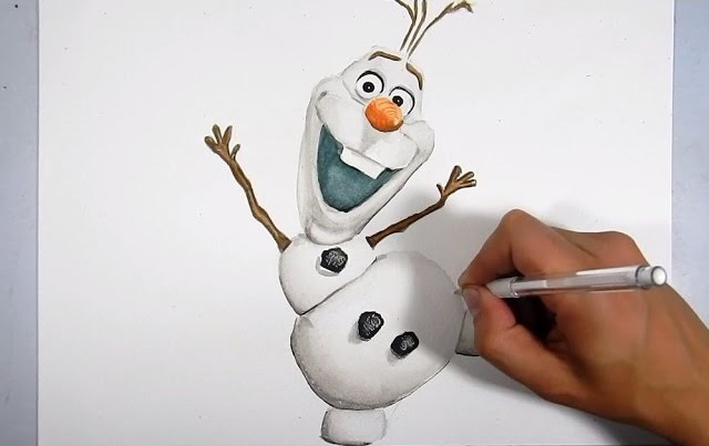 Dibujos Olaf Dibujos T Olaf Dibujo Y Dibujar