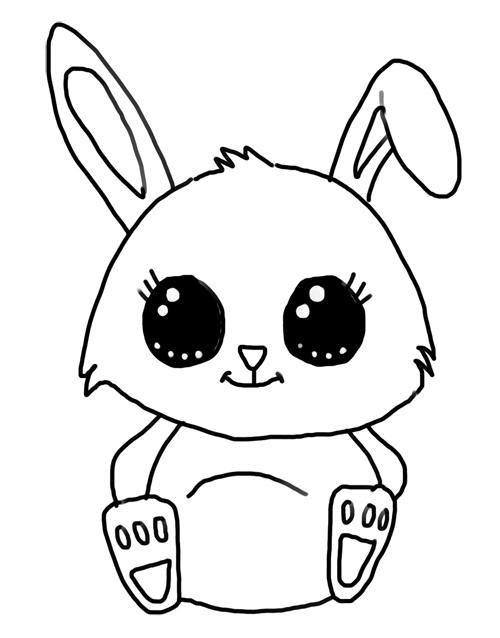 Como Dibujar Un Conejo Paso A Paso Facil Para Ninos