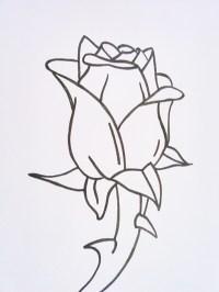 Cmo dibujar una rosa - Rosas para dibujar a lpiz