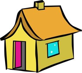 dibujos de casas por dentro para colorear Dibujos