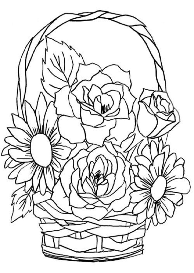 Vistoso Tulipanes Para Colorear Colección - Ideas Para Colorear ...
