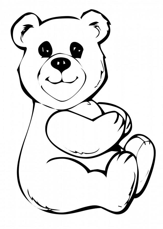 osos para colorear  Dibujos para colorear
