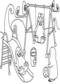dibujos para colorear ozie boo - Dibujos para colorear