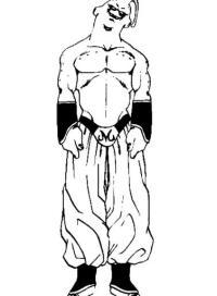 Majin Boo   Dibujos de Dragon Ball