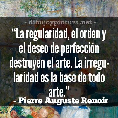 Frases Celebres De Auguste Renoir.
