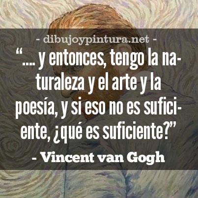 Frases y pensamientos de Vincent Van Gogh
