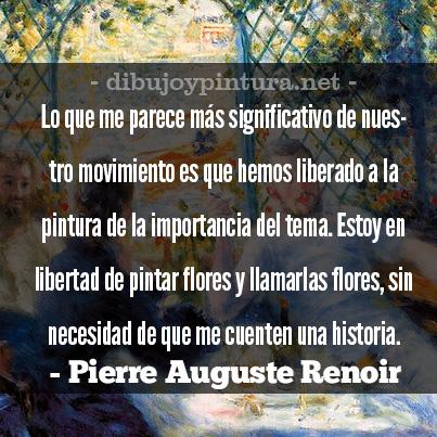 Imagenes con Frases De Pierre Auguste Renoir