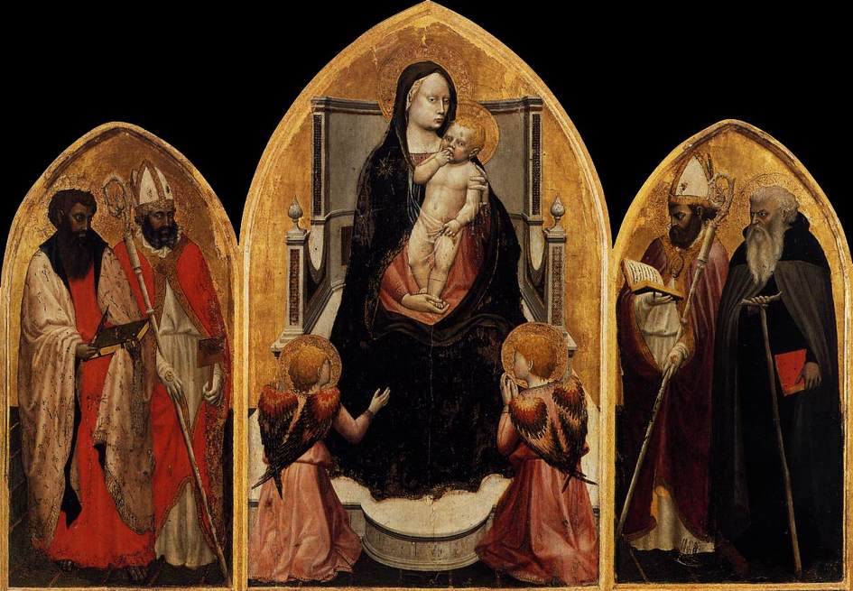 Masaccio Tommaso- Tríptico San Giovenale