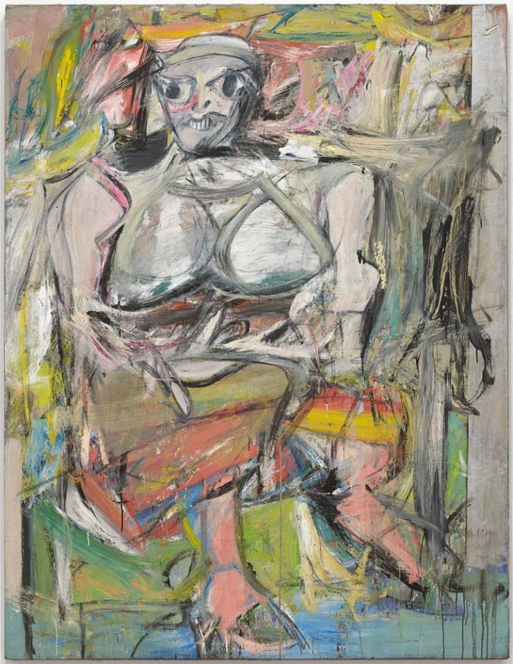 Mujer I por Kooning Pintor Holandes