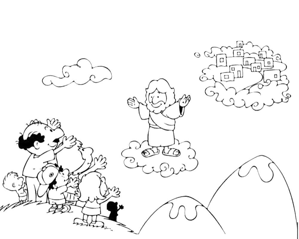 Imagenes De Niños Para Colorear Animados: Dibujos De Semana Santa Para Colorear