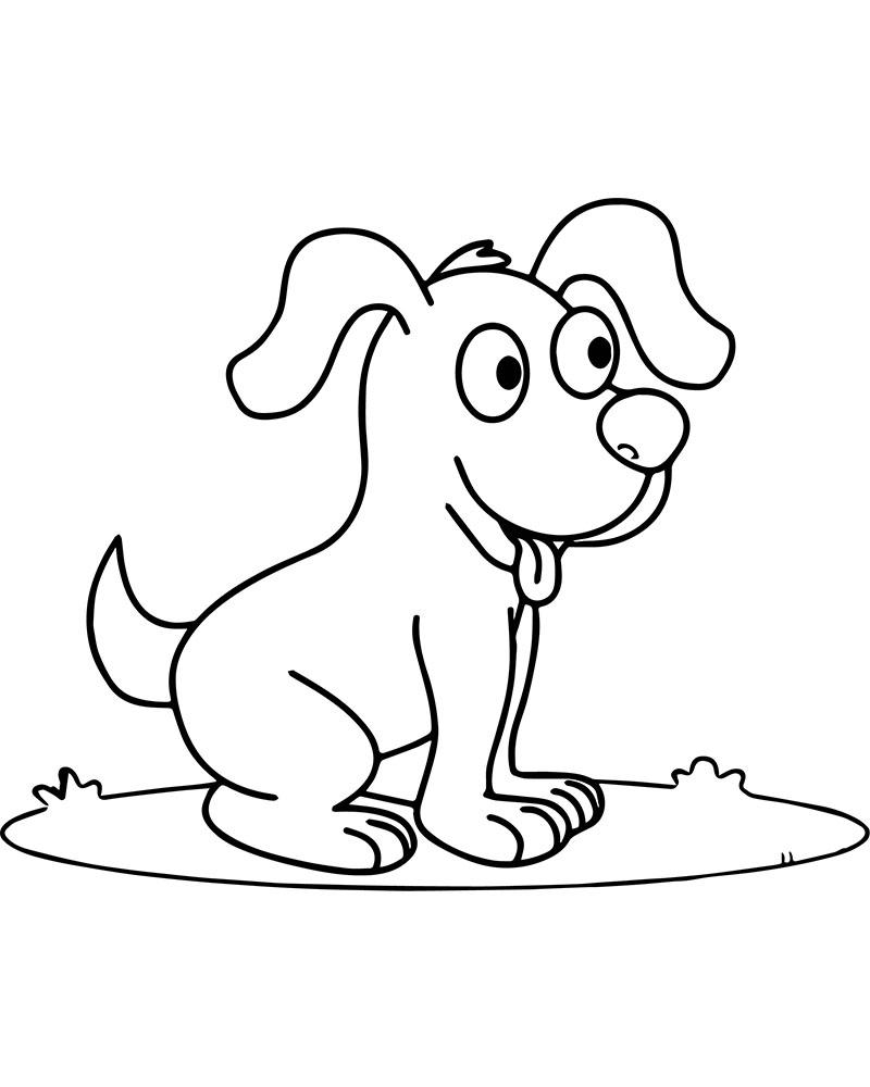 Dibujos de perros faciles de hacer